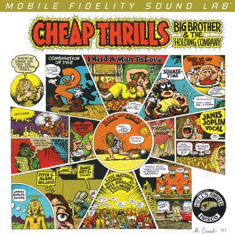 <b>Big Brother & The Holding Company </b><br><i>Cheap Thrills [2LP,  45 RPM]</i>