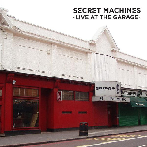 <b>Secret Machines </b><br><i>Live At The Garage [ROG Limited Edition]</i>