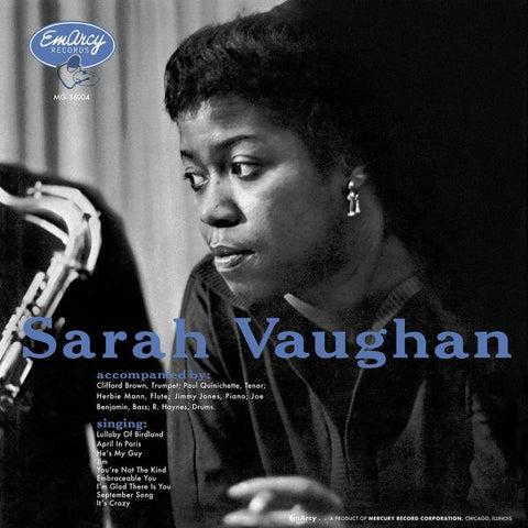 <b>Sarah Vaughan </b><br><i>Sarah Vaughan [All-Analog, QRP Pressing] [Acoustic Sounds Series]</i>