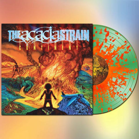 <b>The Acacia Strain </b><br><i>Continent [Green & Orange Vinyl]</i>