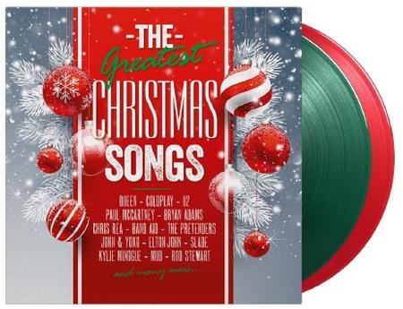 <b>Various </b><br><i>The Greatest Christmas Songs [Import] [Green & Red Vinyl]</i>