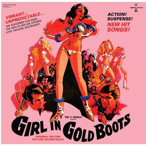<b>Various </b><br><i>Girl In Gold Boots [Gold Vinyl]</i>