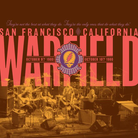 <b>Grateful Dead </b><br><i>The Warfield, San Francisco, CA 10/9/80 & 10/10/80 [2LP, 180g]</i>