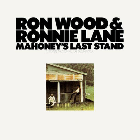 <b>Ron Wood & Ronnie Lane </b><br><i>Mahoney's Last Stand--Original Motion Picture Soundtrack  [Green Vinyl]</i>