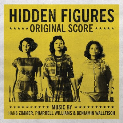 <b>Benjamin Wallfisch, Pharrell Williams, Hans Zimmer </b><br><i>Hidden Figures - Original Score [UK RSD 2019 Release]</i>