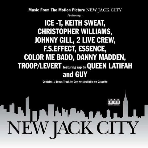 <b>Various </b><br><i>New Jack City (Music From The Motion Picture)</i>