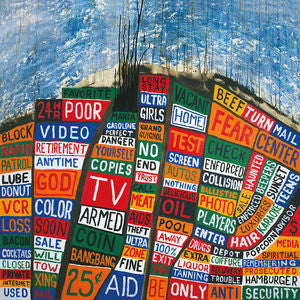 <b>Radiohead </b><br><i>Hail To The Thief</i>