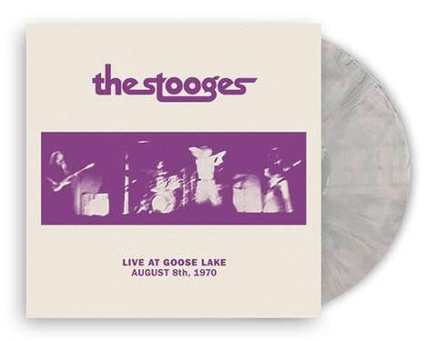 <b>The Stooges </b><br><i>Live At Goose Lake: August 8th, 1970 [Indie-Exclusive Cream Vinyl]</i>