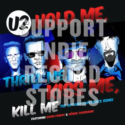 "<b>U2 </b><br><i>Hold Me Thrill Me Kiss Me Kill Me [12""]</i>"