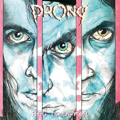 <b>Prong </b><br><i>Beg To Differ [Silver & Black Marbled Vinyl] [Import]</i>
