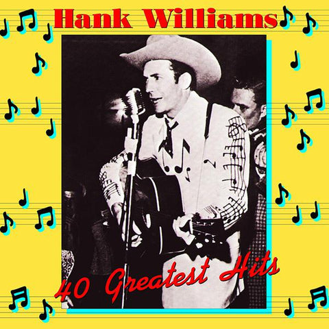 <b>Hank Williams </b><br><i>40 Greatest Hits [Import]</i>