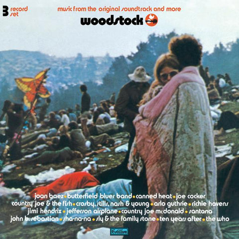 <b>Various Artists </b><br><i>Woodstock - 3 Days Of Peace Music - Mono PA Version</i>