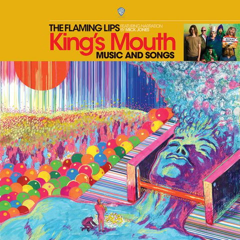 <b>The Flaming Lips Featuring Narration By Mick Jones </b><br><i>King's Mouth (Music And Songs)</i>