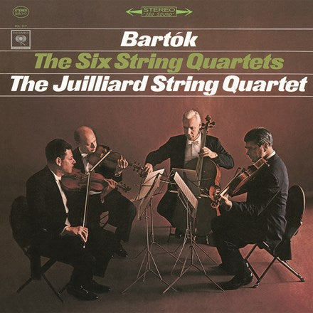 <b>Bartok </b><br><i>The Juilliard String Quartet - The Six String Quartets [3LP Box Set]</i>