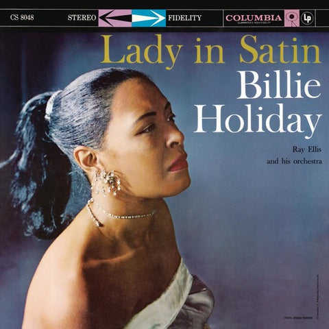 <b>Billie Holiday With Ray Ellis And His Orchestra </b><br><i>Lady In Satin</i>