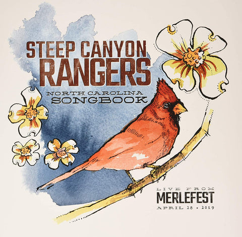 <b>Steep Canyon Rangers </b><br><i>North Carolina Songbook - Live From Merlefest April 28 2019 [Tri-Color Vinyl]</i>