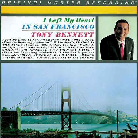 <b>Tony Bennett </b><br><i>I Left My Heart In San Francisco</i>