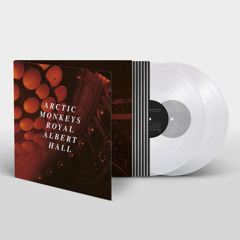 <b>Arctic Monkeys </b><br><i>Live At Royal Albert Hall [Indie-Exclusive Clear Vinyl]</i>