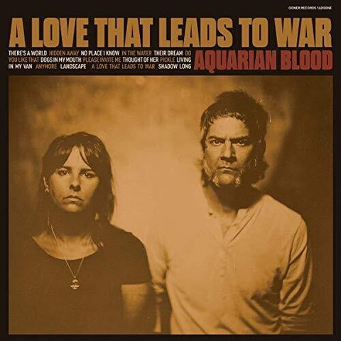<b>Aquarian Blood </b><br><i>A Love That Leads to War [Colored Vinyl]</i>