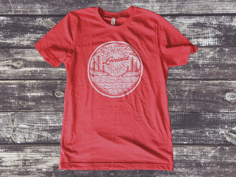 <b>Loveland T-Shirt</b><br>Heather Red