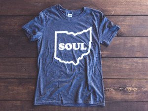 <b>Ohio Soul T-Shirt</b><br>Dark Heather Gray