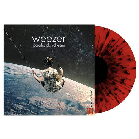 <b>Weezer </b><br><i>Pacific Daydream [Indie-Exclusive Red Vinyl w/ Black Splatter, Includes Download]</i>