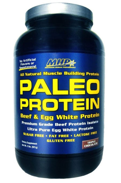 MHP Paleo Beef & Egg White Protein, Triple Chocolate, 2 lb.
