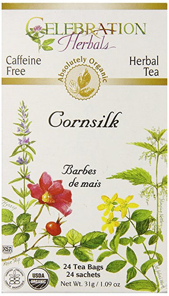 Celebration Herbals, Organic Cornsilk Herbal Tea, 24 ct.