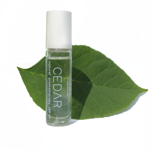 Cedar - Roll-on essential oil perfume