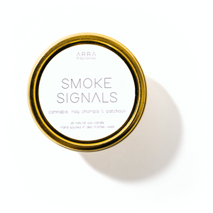 Smoke Signal - Gold Travel Candle