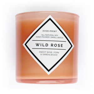 Wild Rose - Soy Candle
