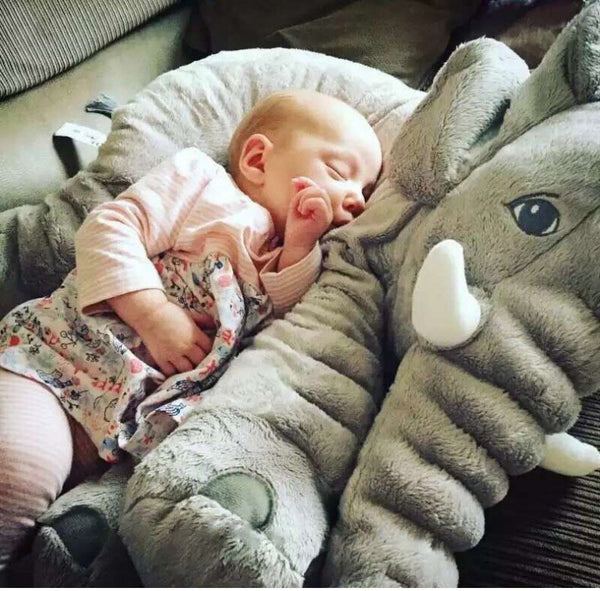 Elephant Plush Pillow