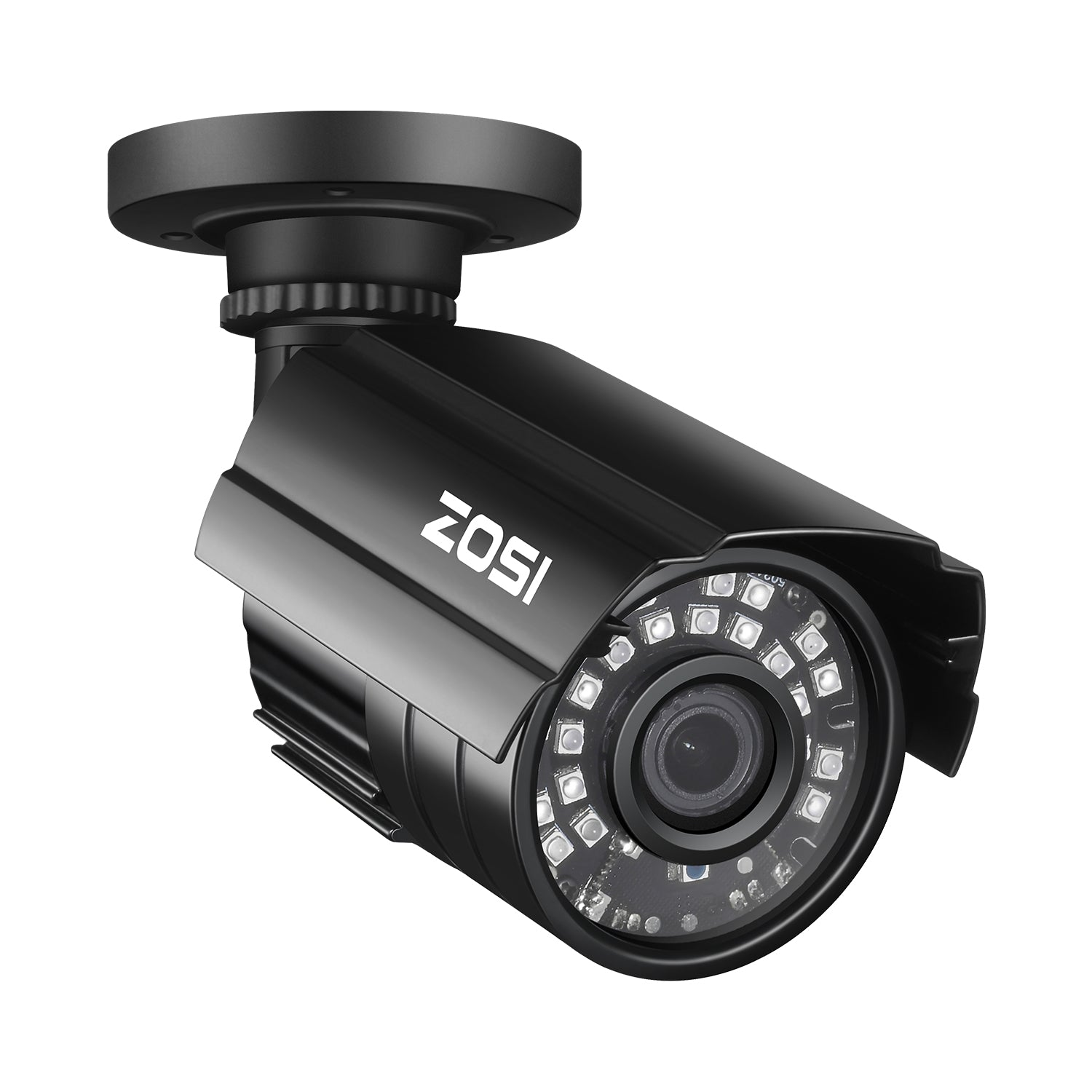 1080P Bullet Security Camera, 80ft Night Vision, Compatible with TVI CVI AHD CVBS DVR System
