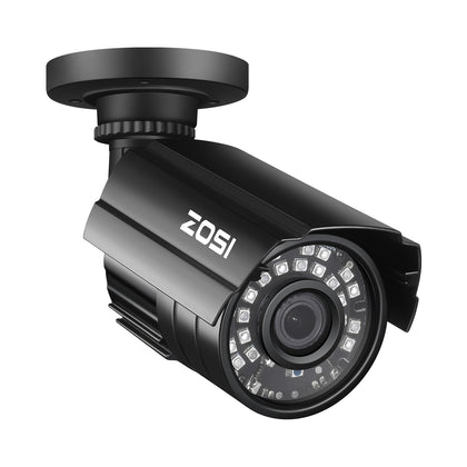 1080P Bullet Camera, 65ft Night Vision, Compatible with TVI CVI AHD CVBS DVR