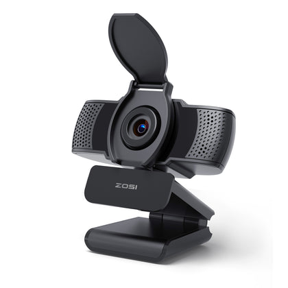 Web Camera with Microphone, Plug & Play USB Camera, Compatible with Computer Laptop Desktop