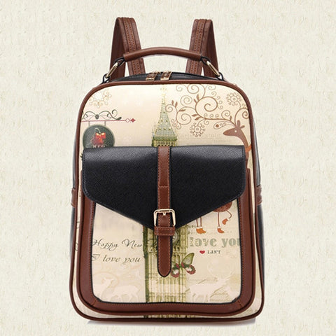 Trendy Backpack College Style Backpack, School Bags for Teenagers