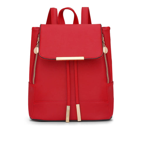 Trendy Leather Backpack for Everyday, School or Travel