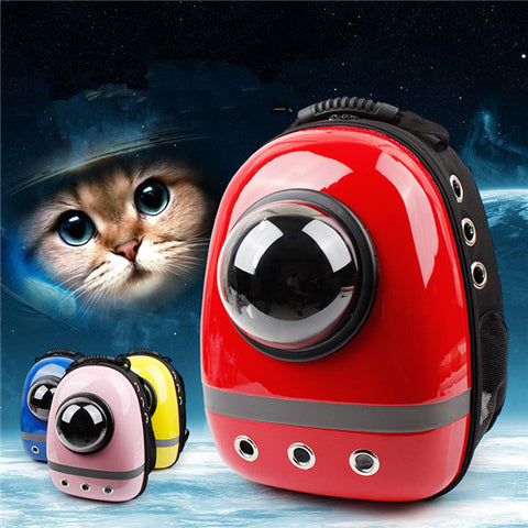 2016 Trend Space Capsule Shaped Pet Carrier Breathable pet backpack