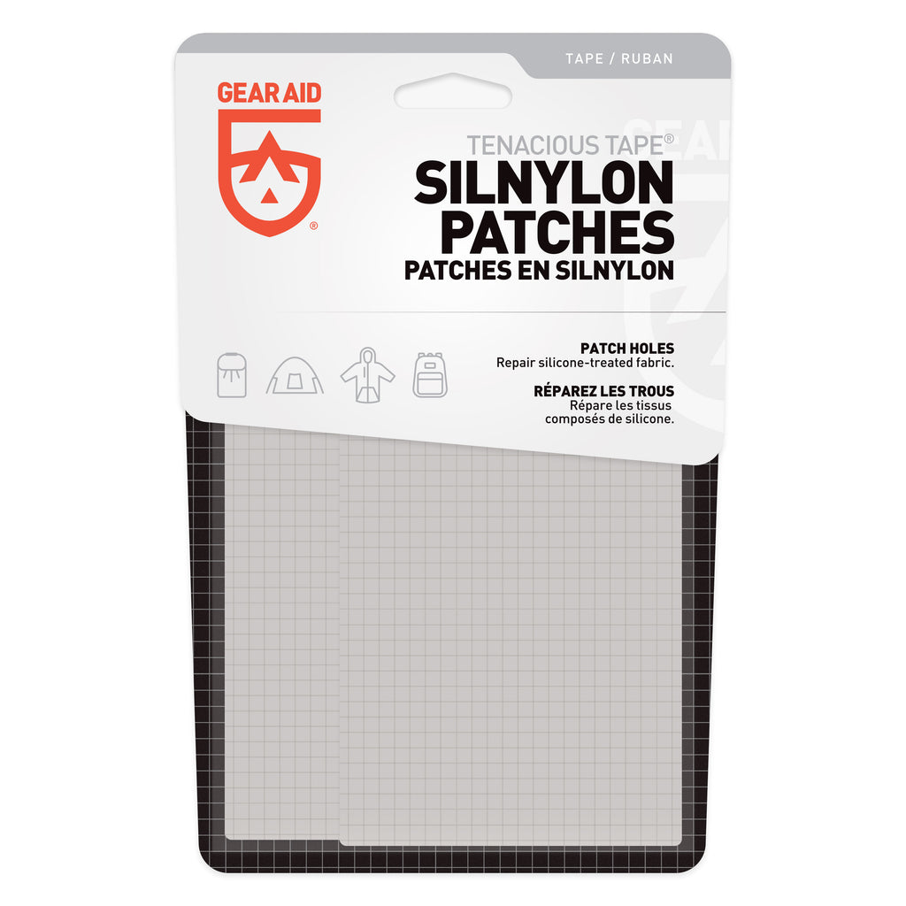GEAR AID Launches Silnylon Repair Patches