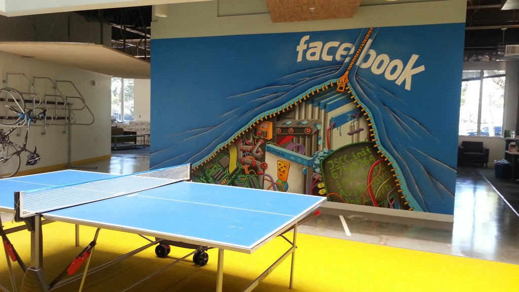 Facebook HQ Tour & Workshop