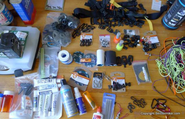 Backpacking Repair Hacks from the SectionHiker