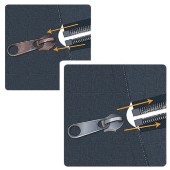 how to fix a broken zipper slider