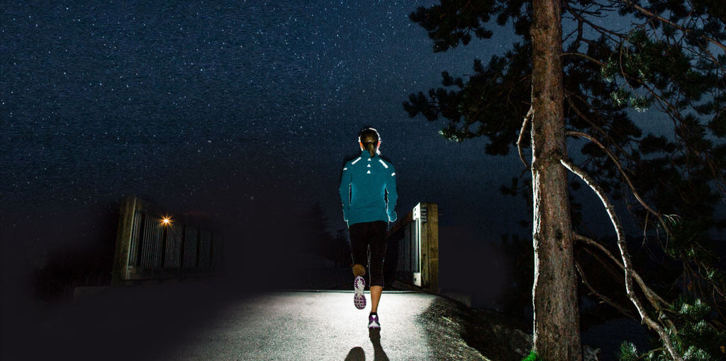 Reflective Night Trail Running