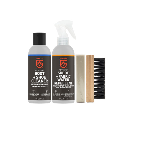 Revivex Suede and Fabric Boot Care Kit
