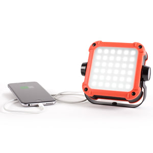 FLUX Rechargeable LED Light and Power Station