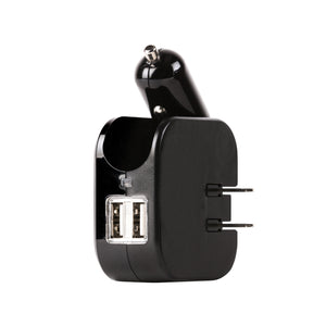 High-Speed Dual USB Travel Charger