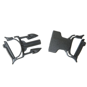 Dual Snap Bar Repair Buckle 1""