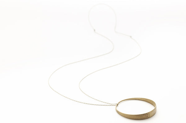 Hollow Necklace, Circle