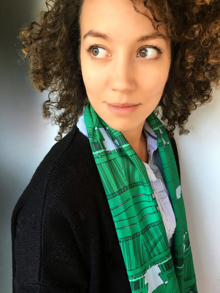 The Green Loop Scarf