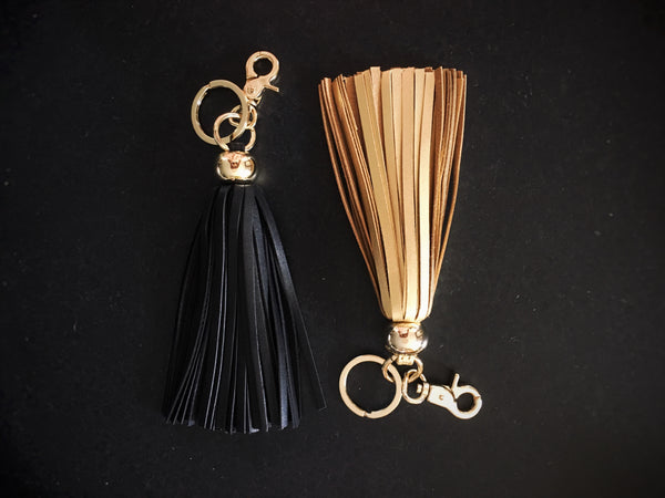 Formative Designs Leather Key Tassles